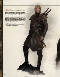 Archetype: Sellsword