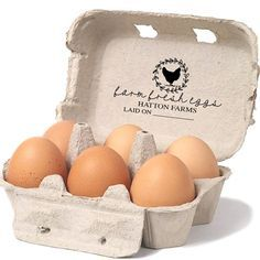 This Chicken Egg Carton Stamp is a great way to customize your egg cartons, signs and gift tags. Use at Farmers markets or on your egg cartons that you deliver to friends. When you order a Southern Paper & Ink stamp, you'll enjoy friendly and quick service and the best quality stamps that ship in 2-4 days! ____________________________________________ S I Z E . O F . S T A M P . I M P R I N T 1.5x3 inches ____________________________________________ P L A C I N G . Y O U R . O R D E R At…