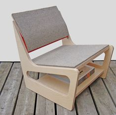 Parkdale Chair « Fishtnk Design Factory is part of Cnc furniture - Plywood Chair, Plywood Furniture, Cool Furniture, Modern Furniture, Furniture Design, Outdoor Furniture, Plywood Floors, Modern Chairs, Furniture Making