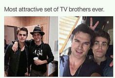 The Salvatore brothers💜💜