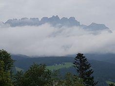 Auch mit Wolken sehenswert... der #Wilde Kaiser
