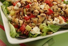 Change things up a bit to make sure you bring a unique dish to a potluck dinner with a colorful salad such as this Couscous Salad with Roasted Cauliflower and Dijon.