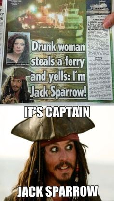 19 Captain Jack Sparrow Memes Hilarious - Next Memes Humour Disney, Disney Memes, Disney Quotes, Funny Disney, Captain Jack, Jack Sparrow Funny, Jack Sparrow Quotes, The Pirates, Pirates Of The Caribbean