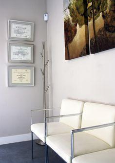 Recepción Sala de espera Gabinete 1 Gabinete 2 Gabinete 3 Despacho Rayos X Aseos Sala de Esterilización