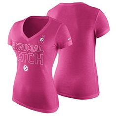 Get this Pittsburgh Steelers Ladies BCA Tri-Blend V-Neck T-Shirt at  ThePittsburghFan.com. DARLENE RUPERT · BREAST CANCER 553680721