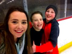 Ice skating was fun!!!