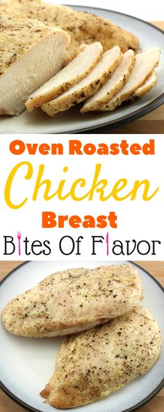 Oven Roasted Chicken Breast- Weight Watcher friendly recipe that is EASY to make…