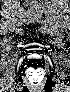 'Paradise Blossom' by Tim McDonagh