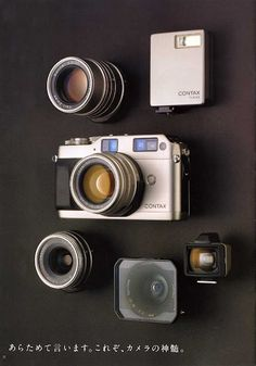 The beautifully-designed Contax G2