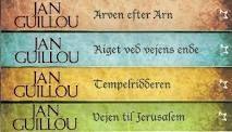 """Arn - tempelridder-trilogien +""""spin-off"""", af Jan Guillou. Crusades Trilogy. Love this story :)"""