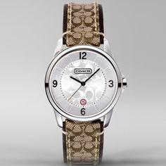 COACH Classic Signature Small Strap Watch