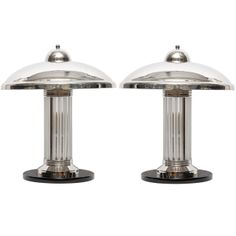 Pair of art-deco table lamps | From a unique collection of antique and modern table lamps at http://www.1stdibs.com/furniture/lighting/table-lamps/