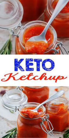 Keto homemade gluten free, sugar free ketchup loved by all. DIY low carb ketchup not store bought - no processed ingredients in this keto recipe. Simple keto ketchup recipe you can make in no Ketogenic Recipes, Low Carb Recipes, Diet Recipes, Healthy Recipes, Low Carb Ketchup, Sugar Free Ketchup, Low Sugar Ketchup Recipe, Homemade Ketchup, Slow Food