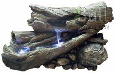Afbeelding bij WATERORNAMENT AVIGNON (INCL. LED VERLICHTING)