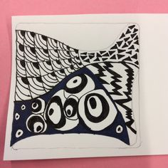 Zentangle by Joan of Zen Drawing Club