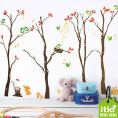 Wall Mural Art Decor Vinyl Deca Sticker Tree Kid Room Sofa Living 50*70cm XS26