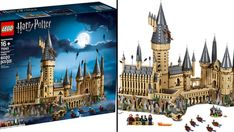 Lego'S harry potter hogwarts castle to be the biggest set yet - kidspot Harry Potter Castle, Lego Harry Potter, Harry Potter Characters, Harry Potter Hogwarts, Harry Potter Poster, Harry Potter Shirts, Harry Potter Christmas, Harry Potter Birthday, Harry Potter Scar Tattoo