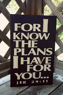 For I know the plans I have for you.  ChelleAnderson.com