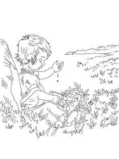 Blueberries for Sal coloring page - | blueberries for sal ...