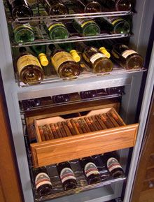 Wine Coolers Cellars Stainless One Or Two Zone Northland Kitchen Liances Cigar
