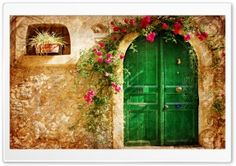 Picturesque Old House HD Wide Wallpaper for Widescreen