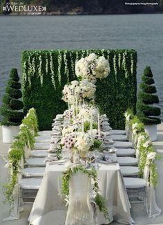 Luxury Wedding Reception Decorations: