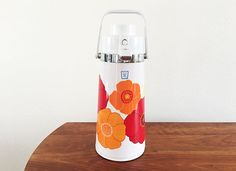 Vintage Coffee Thermos by RoomRebellion on Etsy