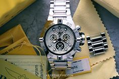 Invicta Subaqua Noma IV 11874 Hand Lines, Swiss Made Watches, Beautiful Watches, Stainless Steel Bracelet, Luxury Watches, Michael Kors Watch, Chronograph, Fancy Watches