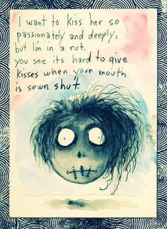 Gotta love that slightly creepy cute style of the fantastic Tim burton.