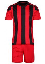 SHARE & Get it FREE | Sports Style Striped Men's Football Training Jersey Set (T-Shirt+Shorts)For Fashion Lovers only:80,000+ Items • New Arrivals Daily • Affordable Casual to Chic for Every Occasion Join Sammydress: Get YOUR $50 NOW!
