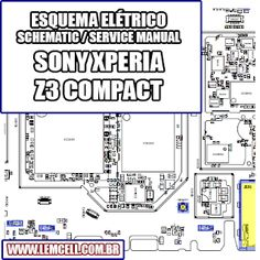 Placa Pcb, Sony Xperia Z3, Layout, Manual, Android, Tutorials, Page Layout