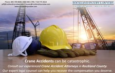 Crane accidents can be catastrophic.    #craneaccidents