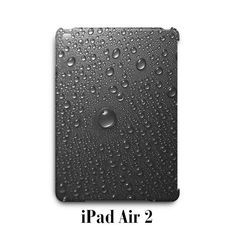 Water Drop Grey light iPad Air 2 Case Cover
