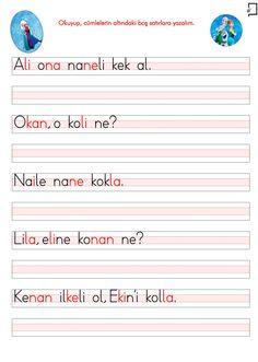 O Sesi Cümleler Learn Turkish, Turkish Language, Preschool, Learning, Words, School, Kid Garden, Studying, Teaching