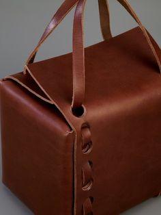 Shop Works Unltd. Box bag.