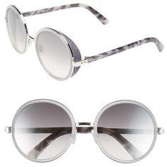 b306bb006f84 Jimmy Choo  Andies  54mm Round Sunglasses    as seen on Emma Roberts at