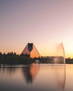 Sunset at the Royal Mint of Canada