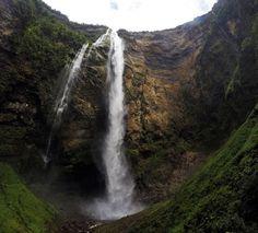 Como chegar nas Cataratas Gocta, na Amazônia Peruana. Como é a trilha. Onde se hospedar. O que levar e outras dicas. Uma das maiores cachoeiras do mundo. Região dos Chachapoyas, no norte do Peru.