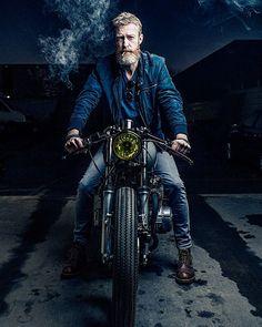 Gentsandpirates #denim  #motorcycle