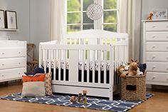 DaVinci Richmond 4 in 1 Convertable Crib with Toddler Rail, White  http://www.babystoreshop.com/davinci-richmond-4-in-1-convertable-crib-with-toddler-rail-white/