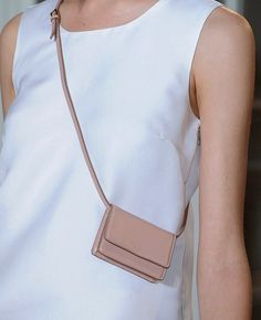 The tiniest cross body I have ever seen. And I love it. By Rochas. #Rochas