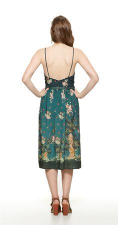 Só na Antix Store você encontra Vestido Midi O Voo das Fadas com exclusividade na internet