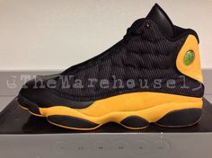 "Air Jordan 13 Carmelo Anthony ""Golden Nuggets"" PE"