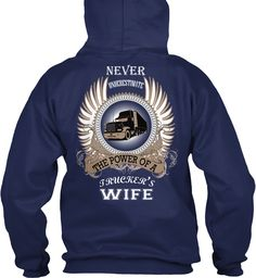 Limited Edition For Trucker's Wife at http://teespring.com/twife#pid=212&cid=5820&sid=back