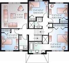 Split level house plans  Contemporary houses and Rustic house    Split Level Floor Plan  http   modtopiastudio com amazing split