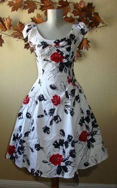 H/&R London Kleid ANCHORS BOWS /& STARS LONG DRESS white