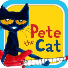 Pete the Cat birthday party - Pete the Cat DIY - Pete the Cat digital paper