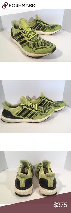 Adidas Ultra Boost 1.0 Item details:   -adidas brand  -solar yellow colorway  -in good condition, refer to pictures  -Men's Size 12.5  -very hard to find  -boost technology  -yellow, black and white  -I ship next day  -Ultra Boost 1.0   Please let me know if you have any questions. adidas Shoes Sneakers