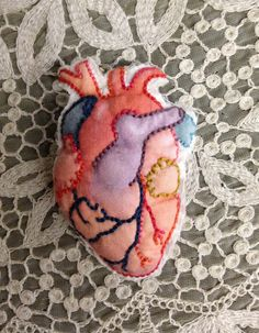 Wear your (anatomically correct) heart on your sleeve.