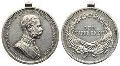 Tapferkeitsmedaille II. Klasse in Silber, o.J., von J. Tautenhayn Personalized Items, Laurel Wreath, Silver